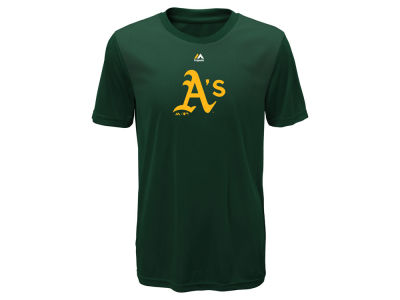 Oakland Athletics Majestic MLB Youth Geo Strike CB T-Shirt