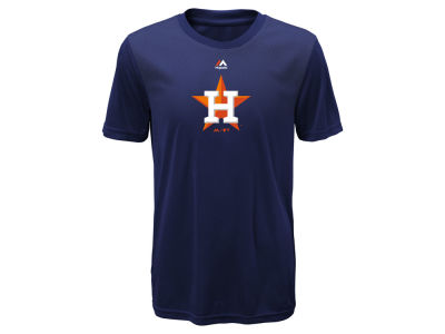 Houston Astros Majestic MLB Youth Geo Strike CB T-Shirt