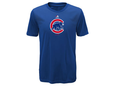 Chicago Cubs Majestic MLB Youth Geo Strike CB T-Shirt