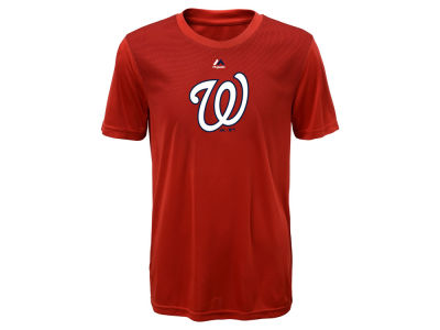 Washington Nationals Majestic MLB Youth Geo Strike CB T-Shirt