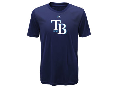 Tampa Bay Rays Majestic MLB Youth Geo Strike CB T-Shirt