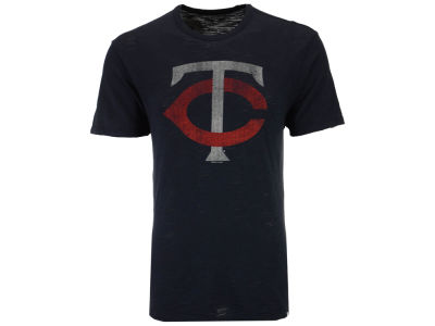 Minnesota Twins Majestic MLB Youth Geo Strike CB T-Shirt