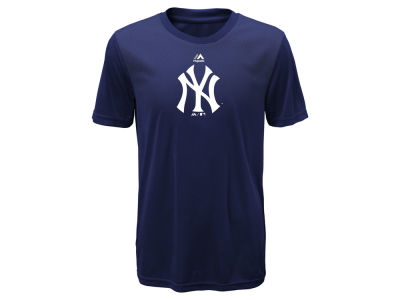 New York Yankees Majestic MLB Youth Geo Strike CB T-Shirt