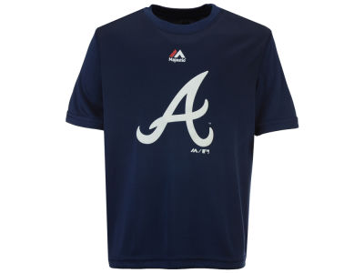 Atlanta Braves Majestic MLB Youth Geo Strike CB T-Shirt