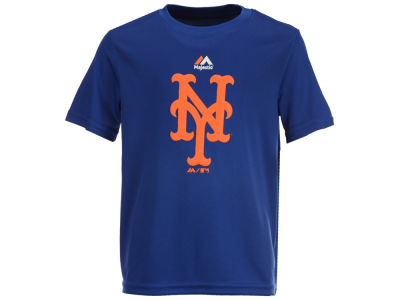 New York Mets Majestic MLB Youth Geo Strike CB T-Shirt