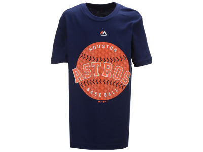 Houston Astros Majestic MLB Youth Electric Ball T-Shirt