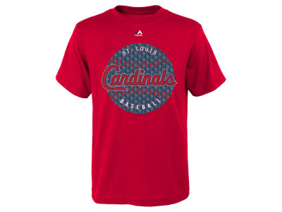 St. Louis Cardinals Majestic MLB Youth Electric Ball T-Shirt