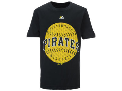 Pittsburgh Pirates Majestic MLB Youth Electric Ball T-Shirt