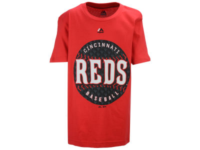 Cincinnati Reds Majestic MLB Youth Electric Ball T-Shirt