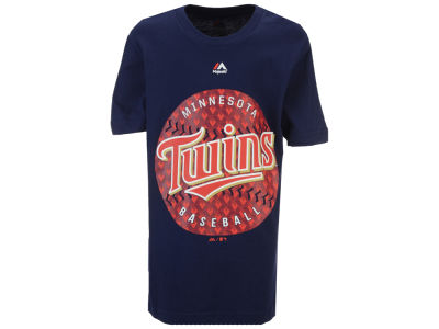 Minnesota Twins Majestic MLB Youth Electric Ball T-Shirt