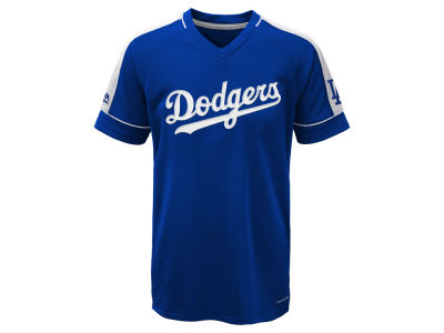 Los Angeles Dodgers Majestic MLB Youth Lead Hitter T-Shirt