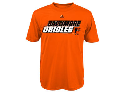Baltimore Orioles Majestic MLB Youth Kinetic CB T-Shirt