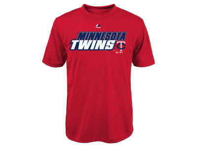Minnesota Twins Majestic MLB Youth Kinetic CB T-Shirt