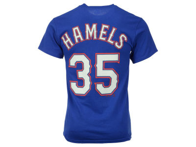 Texas Rangers Cole Hamels Majestic MLB Men's Official Player T-Shirt