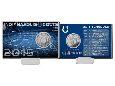 Indianapolis Colts Coin Card-Silver