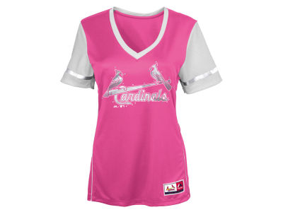 St. Louis Cardinals MLB Youth Girls Curveball Babe T-Shirt