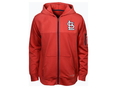 St. Louis Cardinals Majestic MLB Youth Payback Moment Full-Zip Hoodie