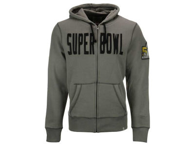 Super Bowl 50 NFL Men's Super Bowl 50 Cross Check Full Zip Hoodie