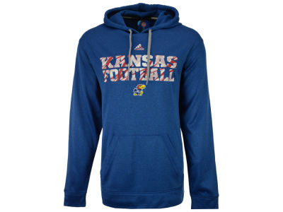 Kansas Jayhawks adidas NCAA Men's Shockworthy Pullover Hoodie