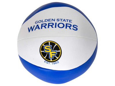 Golden State Warriors Softee Free Throw Basketball 8""