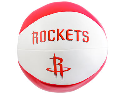 Houston Rockets Softee Free Throw Basketball 8""