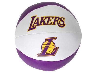 Los Angeles Lakers Softee Free Throw Basketball 8""