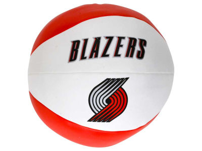 Portland Trail Blazers Softee Free Throw Basketball 8""