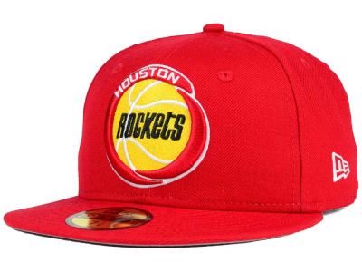 Houston Rockets New Era NBA HWC Team Basic 59FIFTY Cap