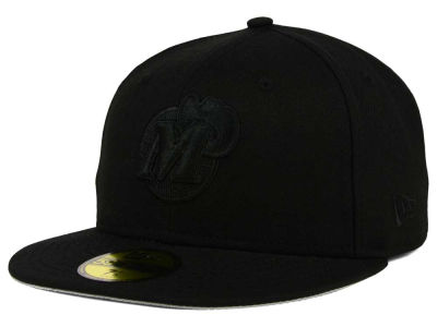 Dallas Mavericks New Era NBA HWC Black on Black 59FIFTY Cap