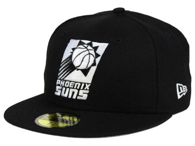 Phoenix Suns New Era NBA HWC Black White 59FIFTY Cap
