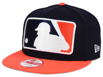 Houston Astros New Era MLB Team Logo Man 9FIFTY Snapback Cap
