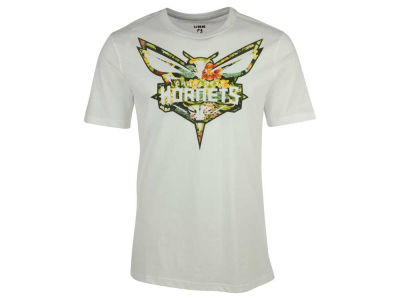 Charlotte Hornets NBA Men's Floral Joint T-Shirt
