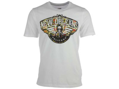 New Orleans Pelicans NBA Men's Floral Joint T-Shirt