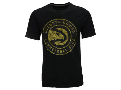 Atlanta Hawks NBA Men's Golden T-Shirt