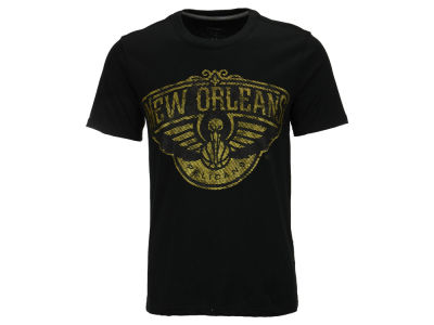 New Orleans Pelicans NBA Men's Golden T-Shirt