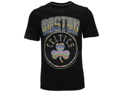 Boston Celtics NBA Men's Zig-Zwag T-Shirt