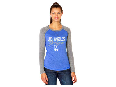 Los Angeles Dodgers MLB Women's Long Sleeve Raglan T-Shirt 2016