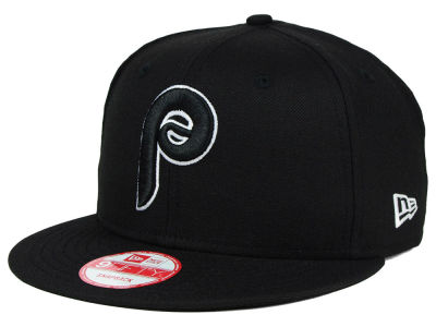 Philadelphia Phillies New Era MLB Black White 9FIFTY Snapback Cap