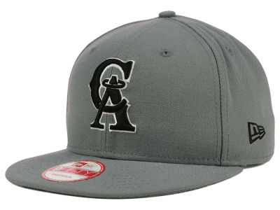 Los Angeles Angels New Era MLB Gray Black White 9FIFTY Snapback Cap