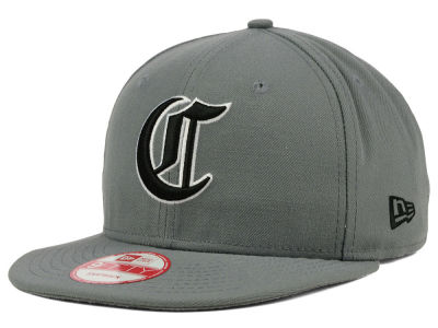 Cincinnati Reds New Era MLB Gray Black White 9FIFTY Snapback Cap