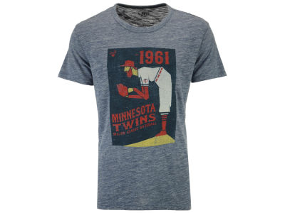 Minnesota Twins '47 MLB Men's Pitcher Tri State T-Shirt