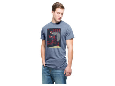St. Louis Cardinals '47 MLB Men's Pitcher Tri State T-Shirt
