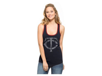 Minnesota Twins MLB Women's Clutch Foil Tank