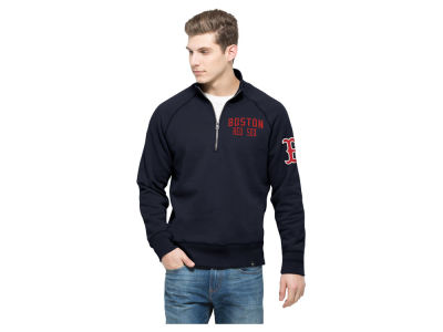 Boston Red Sox '47 MLB Men's Game Break Quarter Zip Pullover