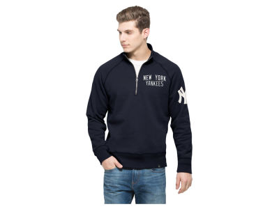 New York Yankees '47 MLB Men's Game Break Quarter Zip Pullover