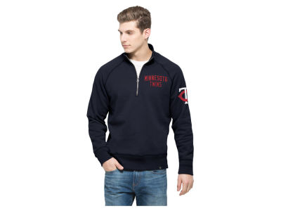 Minnesota Twins '47 MLB Men's Game Break Quarter Zip Pullover