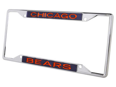 Chicago Bears Glitter Laser Frame
