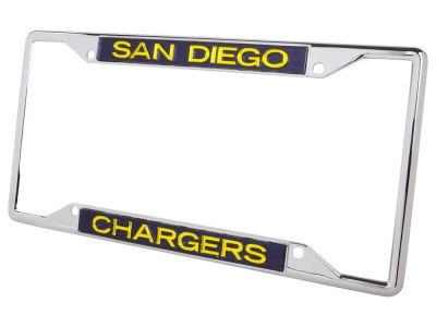 San Diego Chargers Glitter Laser Frame