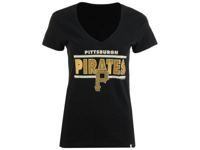 Pittsburgh Pirates MLB Women's Speckle Flanker T-Shirt