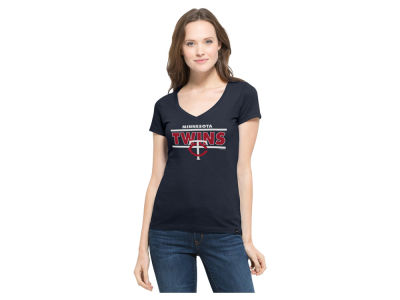 Minnesota Twins MLB Women's Speckle Flanker T-Shirt